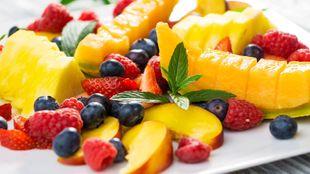 Piatto di frutta in Spa